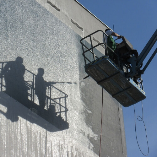 Building Wall Cleaning