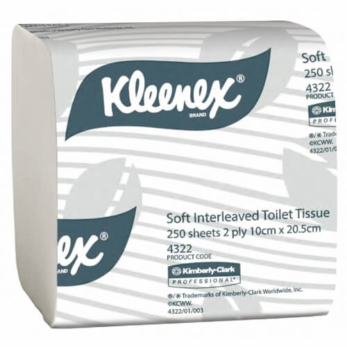 4322 Executive Toilet Tissue Sheets
